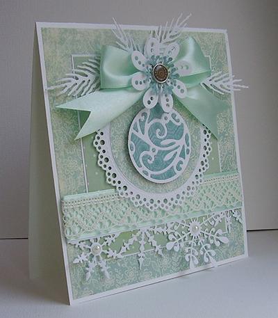 karácsonyi képeslap készítése