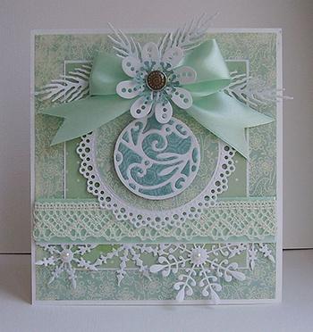karácsonyi képeslap készítése házilag